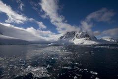 lemaire de canal de l'Antarctique Images libres de droits