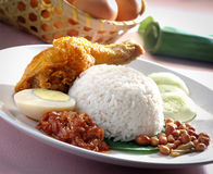 Lemak de Nasi Photo stock