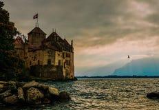 Leman castle royalty free stock photos