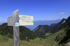 The Leman lake, Evian, France Royalty Free Stock Photography