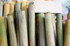 Lemang cook Royalty Free Stock Image