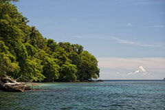 Lembeh turquoise tropical paradise Stock Photos