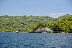 Lembeh turquoise tropical paradise Royalty Free Stock Photography