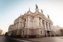 Lemberg-Opern-Theater Lizenzfreies Stockfoto