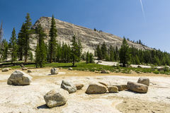 Lembert Dome in Yosemite National Park Royalty Free Stock Image