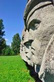 Lembolovo gräns, monument till segern. St Petersburg, Royaltyfri Bild