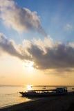 从Lembongan海岛的日出 库存图片