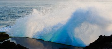 Lembongan-Insel - Blau lizenzfreie stockfotos