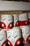 A lembrança da loja de lembranças coloca o café Imagens de Stock