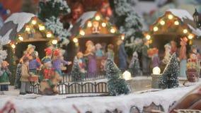 Lembrança do brinquedo do Natal - pista de gelo filme