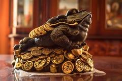 Lembrança do sapo de Jin Chan ou do dinheiro Imagens de Stock Royalty Free