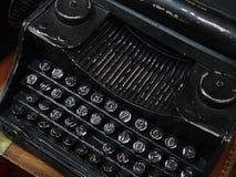 Lembrança sob a forma de uma máquina de escrever velha Fotos de Stock