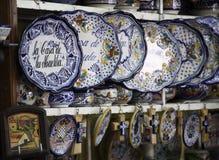 lembrança Talavera-típica de Puebla/México Imagens de Stock