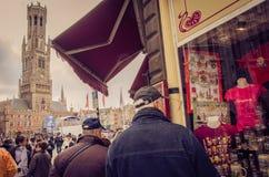 Lembranças de Bruges fotos de stock