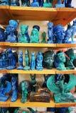lembranças de Egito do azurite e da malaquite fotografia de stock royalty free