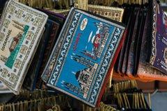 Lembranças de Istambul Bolsas da moeda Imagens de Stock