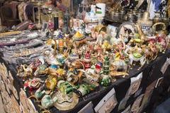 Lembranças de Jerash em Jordânia fotografia de stock royalty free