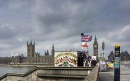 Lembranças de Londres em Westminster Fotografia de Stock