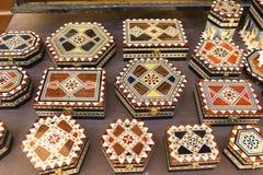 Lembranças do palácio de Alhambra, em Granada, a Andaluzia, Espanha Imagens de Stock Royalty Free
