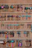 Lembranças em Kathmandu, Nepal fotos de stock