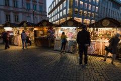 Lembranças em Wenceslas Square Fotografia de Stock Royalty Free
