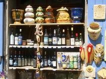 Lembranças francesas em Provence Foto de Stock