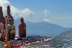 Lembranças maias na venda Fotografia de Stock