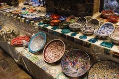 Lembranças que vendem nas ruas de Antalya, Turquia imagem de stock royalty free