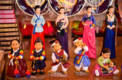 Lembranças coreanas tradicionais do curso Fotos de Stock Royalty Free