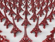 Lembranças/trinkets da torre Eiffel Imagem de Stock Royalty Free