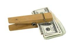 Lembrete do dinheiro Fotografia de Stock Royalty Free