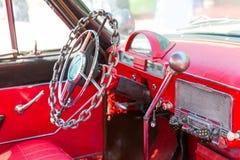 Leme do carro do vintage Imagem de Stock