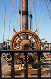 Leme do navio Imagem de Stock