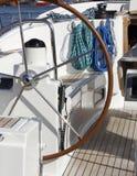 Leme do Sailboat Fotos de Stock
