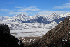 Lemhi Mountains Stock Image