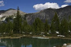 Lemhi Mountains Royalty Free Stock Photography