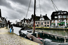 Lemmer in Friesland. Royalty Free Stock Photos