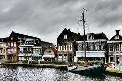 Lemmer in Friesland. Stock Images