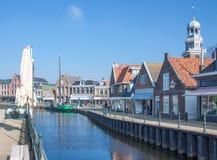 Lemmer, Ijsselmeer, holandie Fotografia Stock