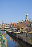 Lemmer,Ijsselmeer,Netherlands. The famous idyllic Village of Lemmer,Ijsselmeer,netherlands Royalty Free Stock Image