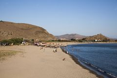 Lemnos  island of Nothern  Greece Royalty Free Stock Photos