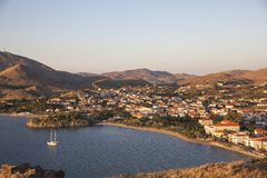 Lemnos  island of Nothern  Greece Royalty Free Stock Photography