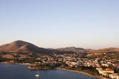 Lemnoseiland Noordelijk Griekenland Royalty-vrije Stock Foto
