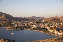 Lemnoseiland Noordelijk Griekenland Royalty-vrije Stock Fotografie