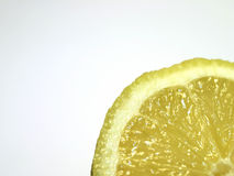 Lemon. Slice, macro Stock Image