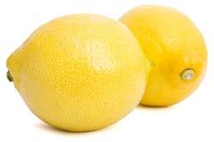 Lemon. Fresh lemon on isolated background Royalty Free Stock Photography