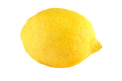 Lemon. Isolated on white background Royalty Free Stock Image