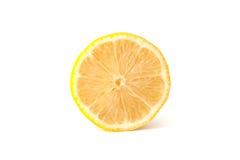 Lemon. Isolated on white background royalty free stock photography