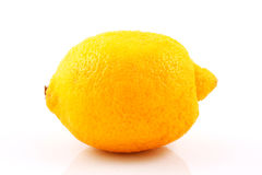 Lemon. Photo of lemon on white background Stock Photography