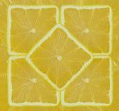 Lemon. Background of the square of bright ripe lemons Royalty Free Stock Photos